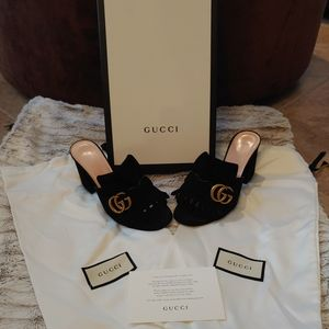 Authentic Gucci Marmont Heels